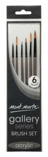 Picture of Mont Marte Gallery Series Brush Set 6Pk