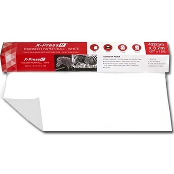 Picture of Xpress It Transfer Paper Roll White
