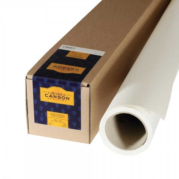 Picture of Canson Heritage Watercolour Paper Rolls