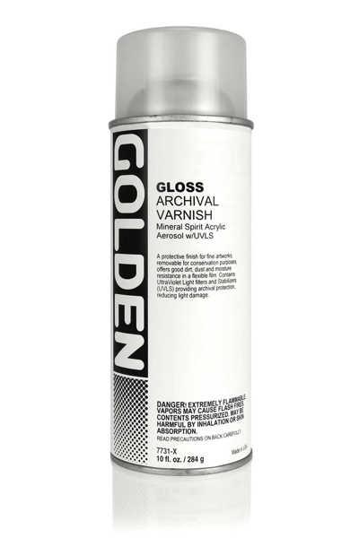 Picture of Golden MSA UVLS Spray Varnish Gloss