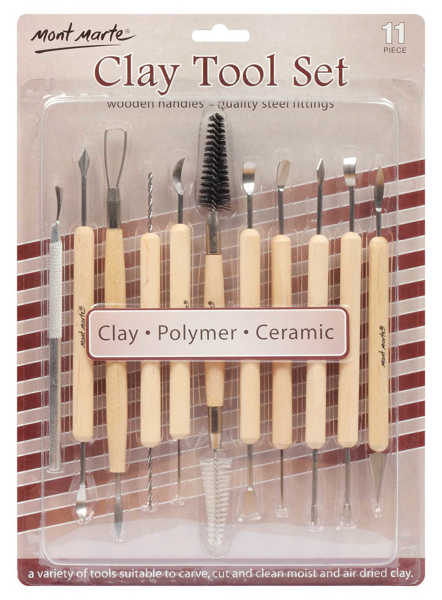 Picture of Mont Marte Clay Tool Set 11pce