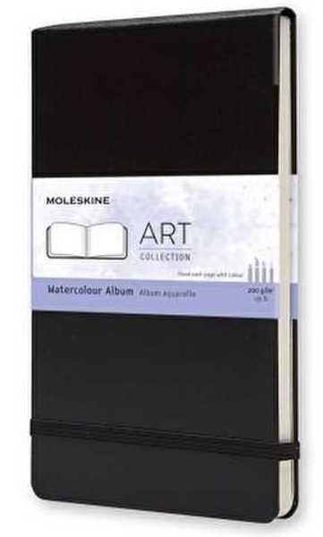 Picture of Moleskine Art Watercolour Album Black Pocket 9x14