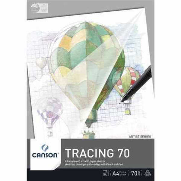 Picture of Canson Tracing Paper Pad 70gsm