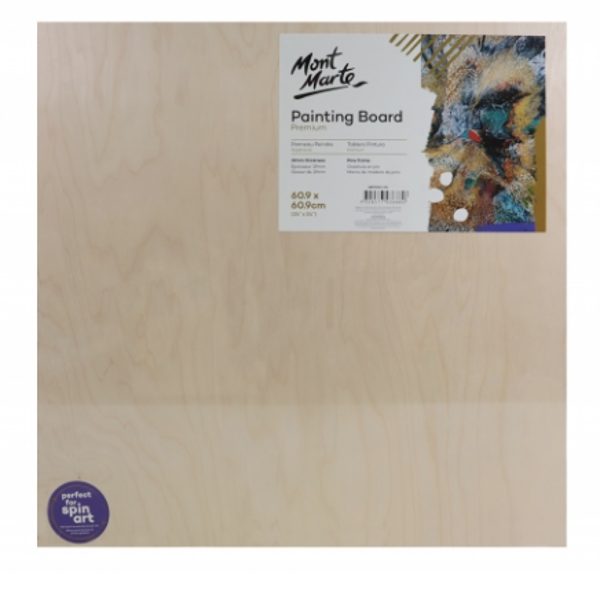 Picture of Mont Marte Wooden Painting Board 60.9 x 60.9cm