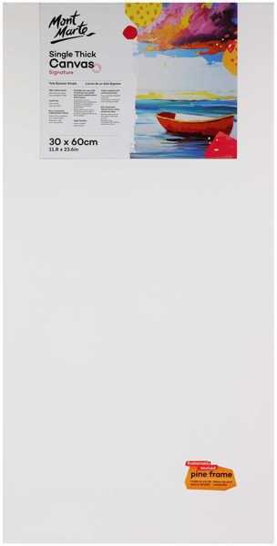 Picture of Mont Marte Studio Thin Canvas 30X60cm