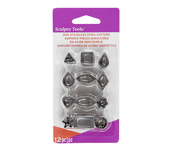 Picture of Sculpey Tools Mini Metal Cutters 12pk